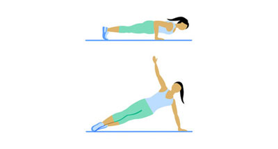 11. Push-Up With Rotation