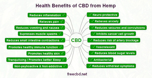 Health Benefits of CBI