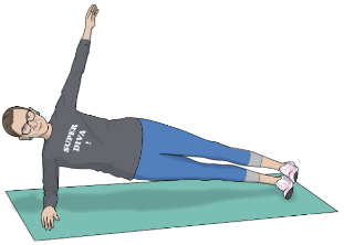 The RBG Workout - Front and Side Planks